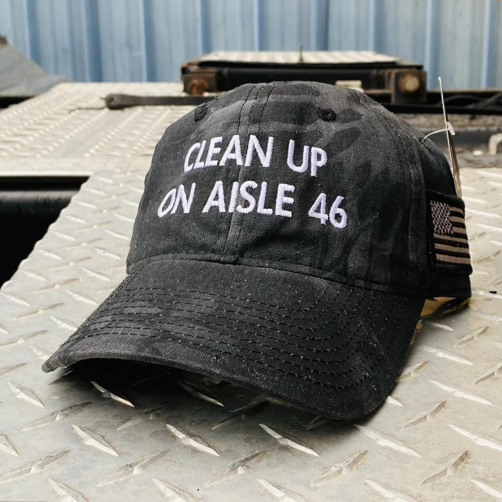Gorgeous Clean Up On Aisle 46 Impeach Biden Hat