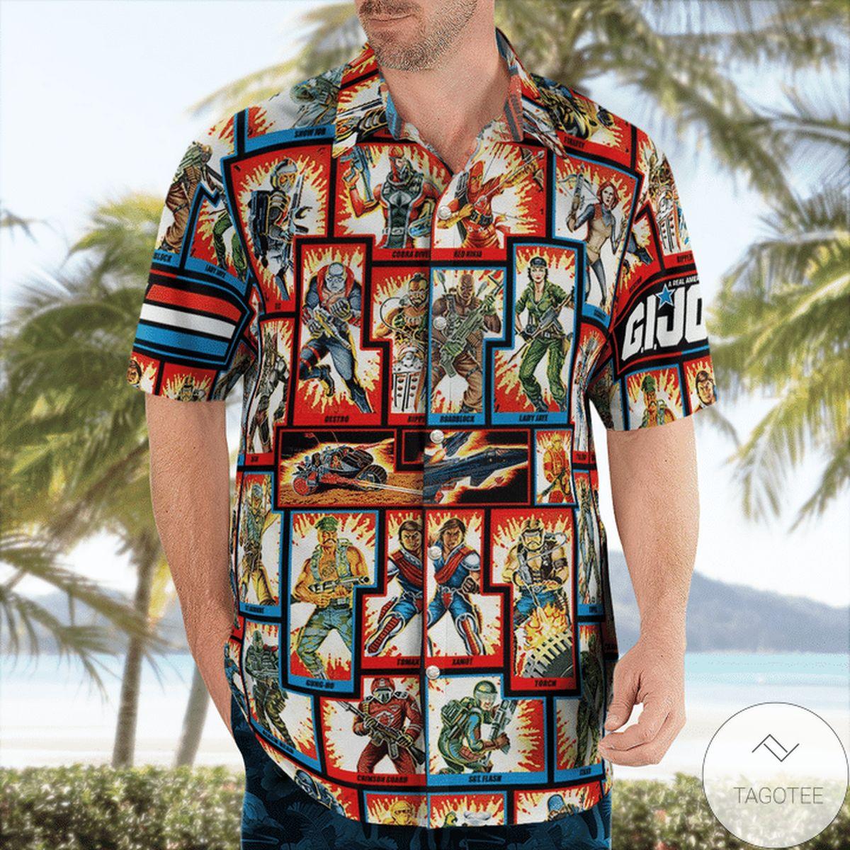 Gi Joe Hawaiian Shirt