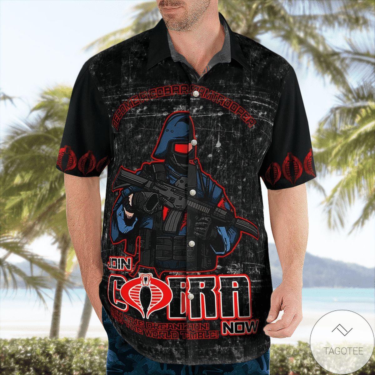 Gi Joe Join Cobra Now Hawaiian Shirt