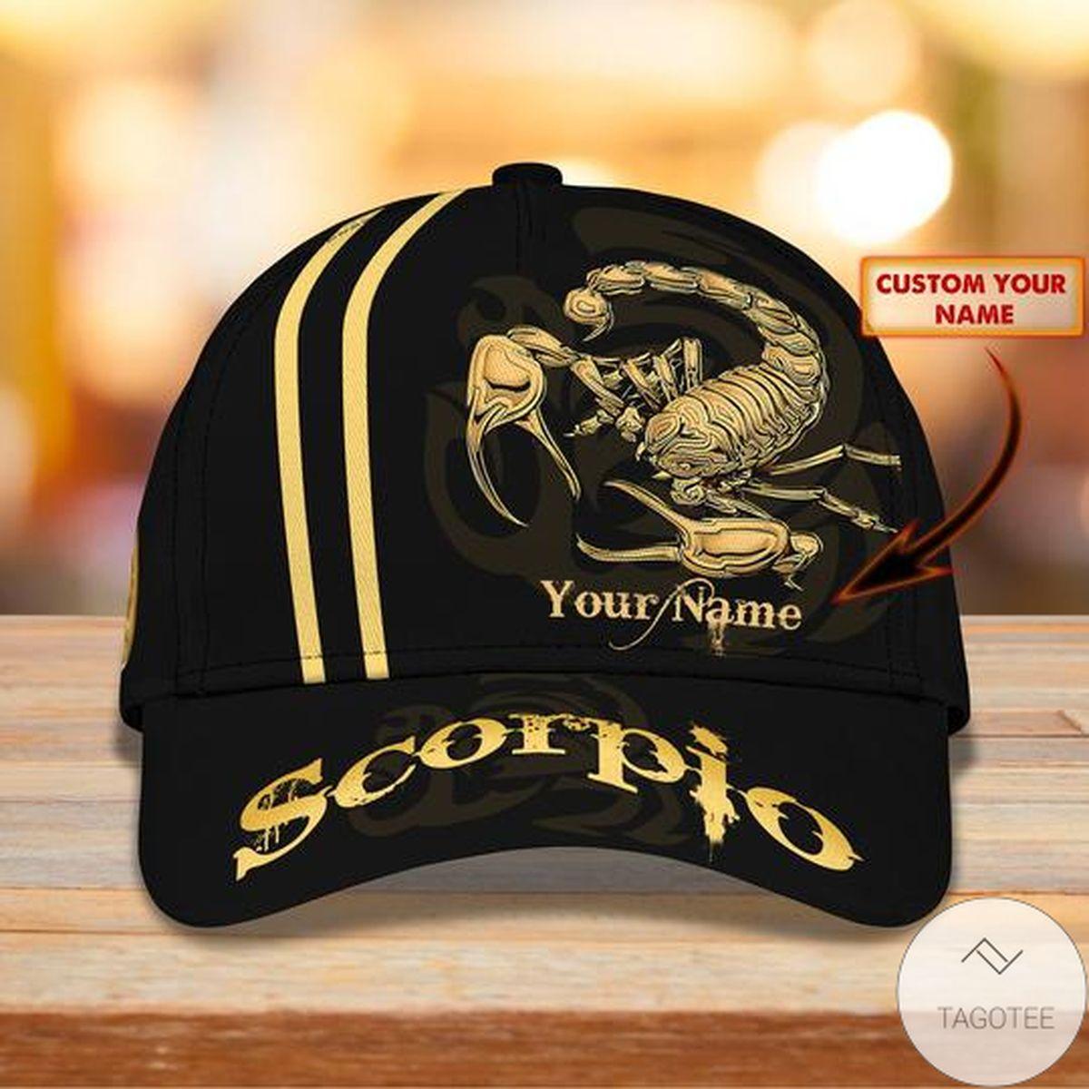 Personalized Scorpio Cap