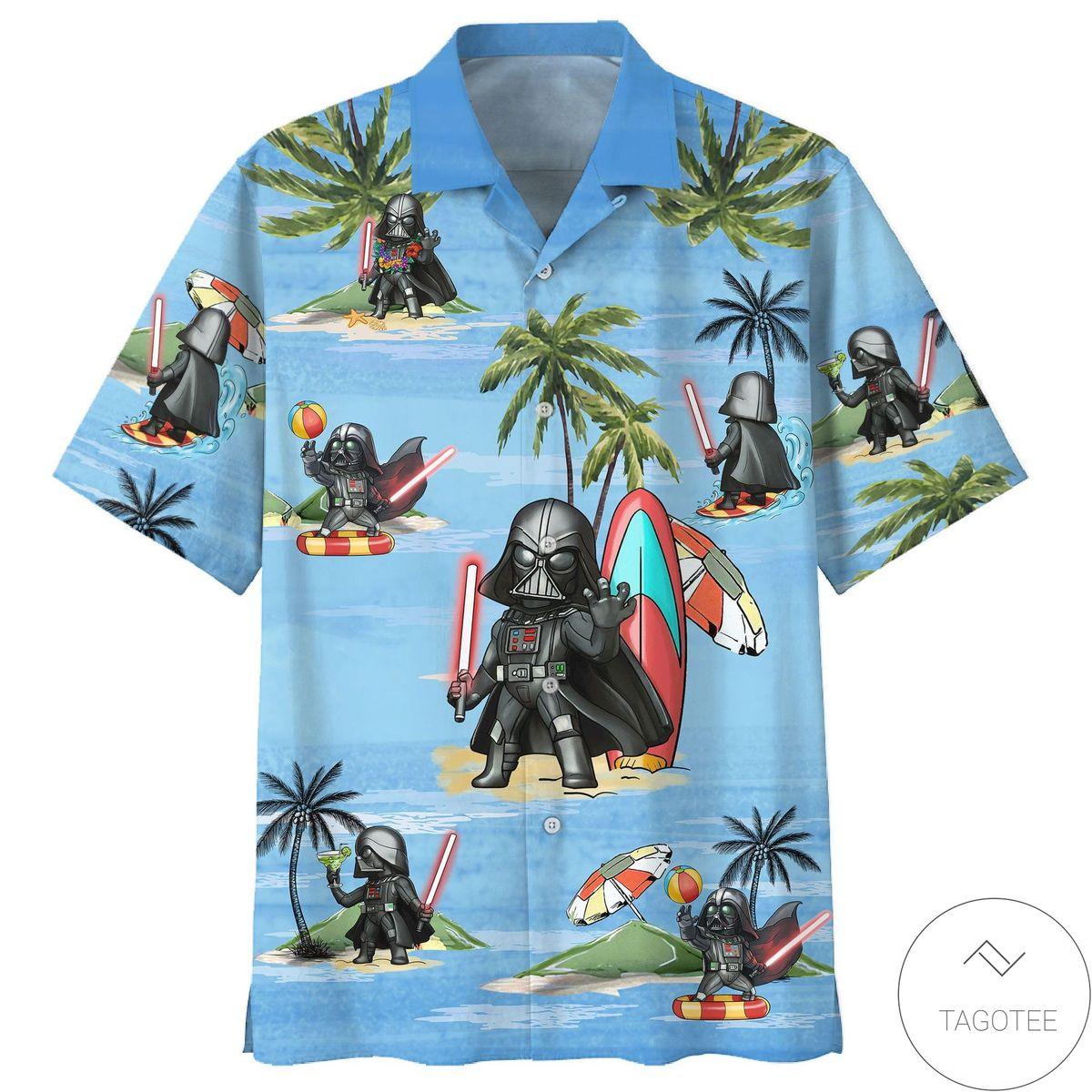 Star Wars Baby Darth Vader Hawaiian Shirt